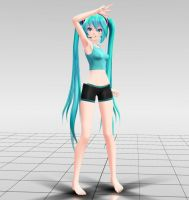 TDA Miku Off MMD download by Reon046