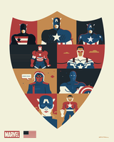 Captain America and Co. by Jurassickevin