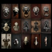 Venetian Doors by KantX-Photography