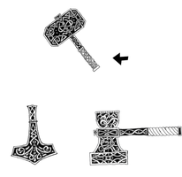 Hammer Tats Design Request by ice-fire
