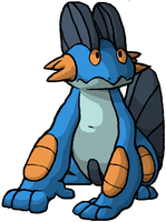 Swampert by WolfKat777