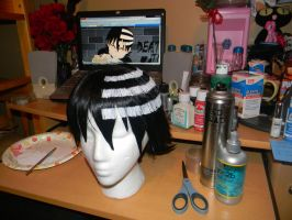 Death the Kid Wig by Celeste707