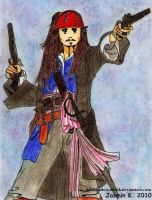 Jack Sparrow by UNTILitFADEStoBLACK