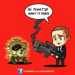 Chibi Coulson by ninjaink