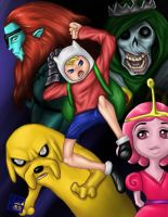 Adventure Time by Darkjet9