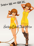 {MMD Download} KH1 + KH2 Selphie by SanctuarysEmbrace
