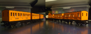 Bachmann NWR Tan Coaches by GBHtrain