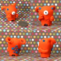Florrie the Timid Monster by TimidMonsters