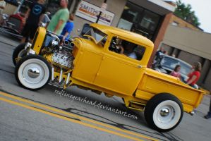 Hot rod truck by RedlineGearhead