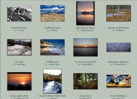 November submissions 8th-11th by Scapes-club