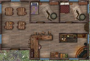 Little Tavern (1st Floor) by DaceyRose-RPG