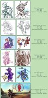 Commission Pricing by RinTheYordle