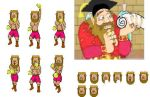 Punch Out: Duke Onkled sprites by MorshuTheWorm