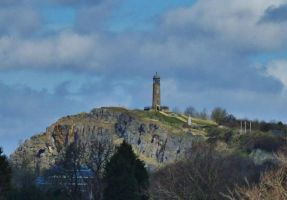 Crich Stand From Sandy Lane, Half Mile Away by TheRealAverageDrawer