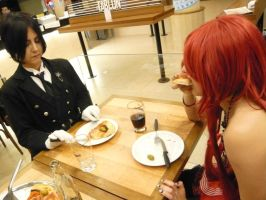 A Date With Grell by Gala-maia