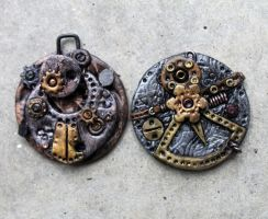 Steampunk Charms 1 by tanren