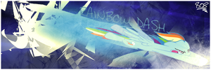 Rainbow Dash signature by aruigus808