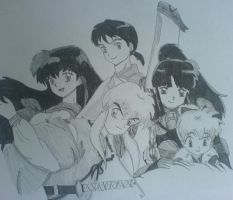 InuYasha group by lillybelle14