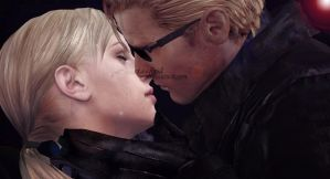 Wesker and Jill 1 by JillPrincessRevil