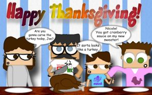 Happy Thanksgiving by AJD08