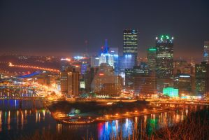 Pittsburgh Skyline 2 by pjs15204