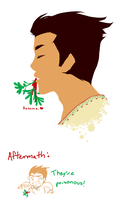 Kiss Me - Happy Holidays 2013 by ArtisticMii