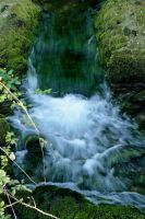 Mini Waterfall and Rapids by Tinap