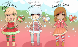 Christmas Elf Adoptables SALE [OPEN] by Xylerz