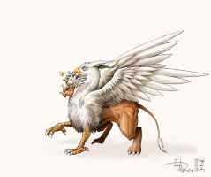 Griffin by TateishiEigo