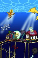 Underwater Railroad by Katfuzzmunchkin