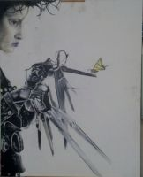Edward scissorhands by sketchdoll07