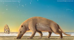 Andrewsarchus mongoliensis by Christopher252