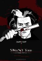 Sweeney Todd - Poster by icHRis83