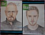 Breaking Bad:Walt and Jesse by FabyLP
