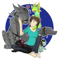 Me and Adopts! by Cold-Creature