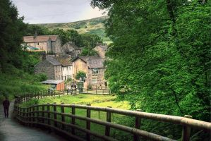 View into Castleton... by TheBaldingOne