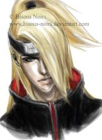 Realism: Deidara by bisous-noirs