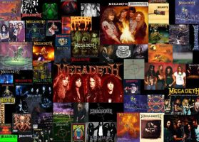 Megadeth Collage by 666-Metallideth-666