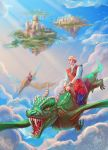 flying on a dragon by VeraVoina