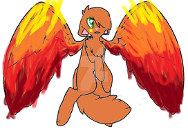 .:Wings of Fire :. (Firestar) by dontleavememasky2975