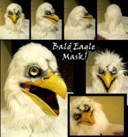 Bald Eagle Mask he's for sale omg by Anarchpeace