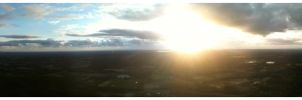 Sunrise Pano from the Summit of Mt Tibrogargan by phyrburn