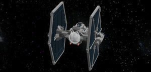 LEGO Star Wars - TIE Experimental S2-M1 by Aryck-The-One