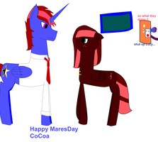 MLP : Happy MaresDay CoCoa by swiffer-the-alicorn