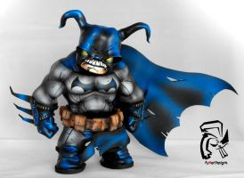 Arkahm City Mad Hatter Batman by FullerDesigns