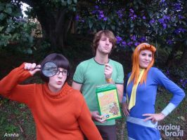 Shaggy, daphne and velma by pandorynha