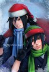 Happy New Year!! Uchiha 2015 )) by Zetsuai89