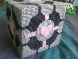 Tutorial - How to make a companion cube!! by sab455