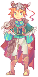 Adoptable extra: Sugar-thief by Sychandelic