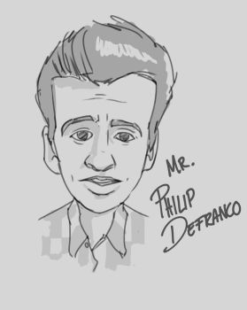 Philip Defranco Sketch by UmbarJr